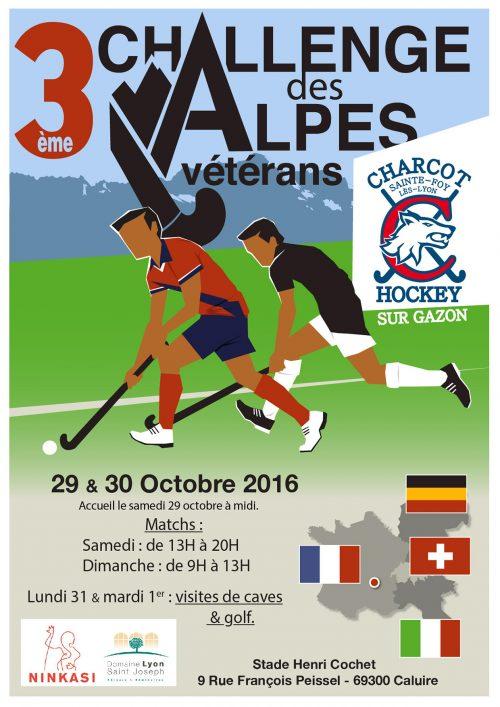 Challenge des Alpes, et Premiers matchs du Collectif France Dame Vétéran